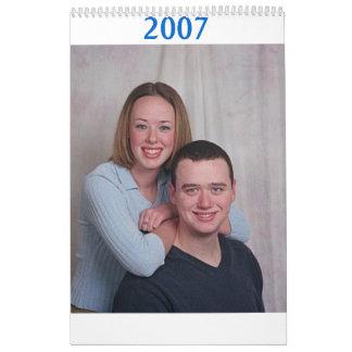 ian & em, 2007 wall calendars