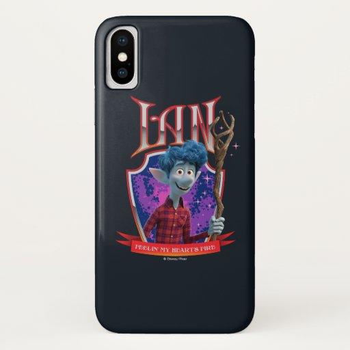 Ian - Feeling My Heart's Fire iPhone X Case