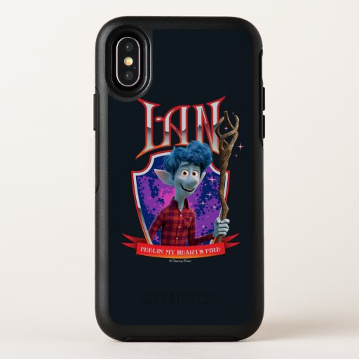 Ian - Feeling My Heart's Fire OtterBox Symmetry iPhone X Case