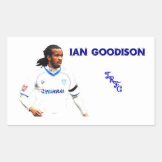 Ian Goodison Rectangular Sticker