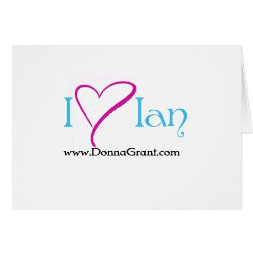 Ian Greeting Card