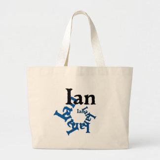 Ian Large Tote Bag