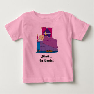 Ian Wakes Up Cover - Still Asleep Shhhh Baby T-Shirt
