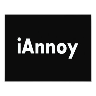 iAnnoy Card