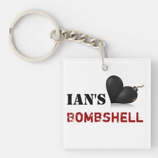 Ian's Bombshell Keychain