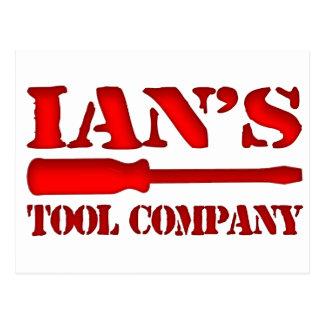 Ian's Tool Company Postcard