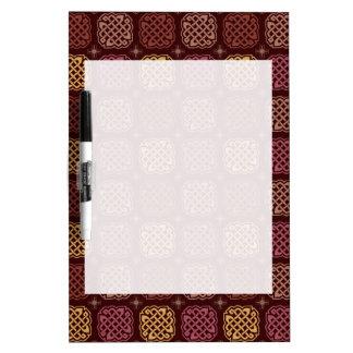Ian's Wallpaper Dry-Erase Board