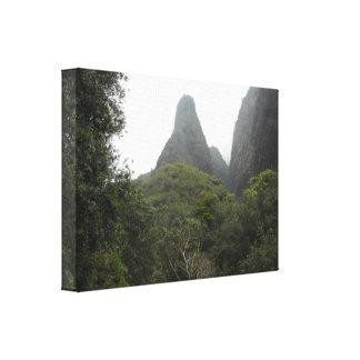 Iao Needle in Maui, Hawaii Stretched Canvas Print