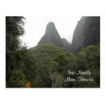 Iao Needle - Maui Hawaii Postcard