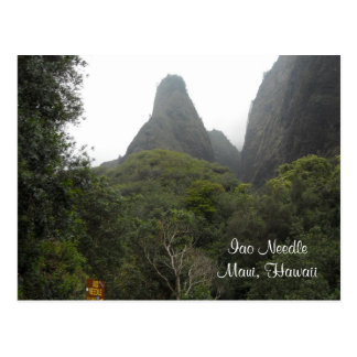 Iao Needle - Maui Hawaii Postcard