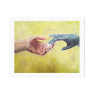 iArtistify Sci-Fi Painting Canvas Print