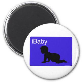 iBaby azul Imanes Para Frigoríficos