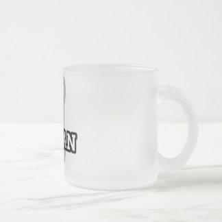 Ibadan 10 Oz Frosted Glass Coffee Mug