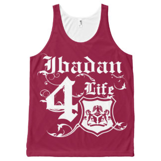 Ibadan For life All-Over Print Tank Top