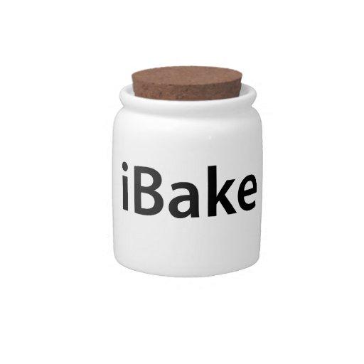 iBake cookie jar Candy Dish