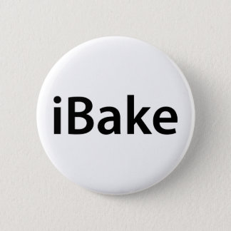 iBake t-shirt Button