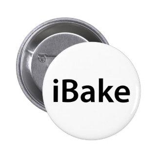 iBake t-shirt Button