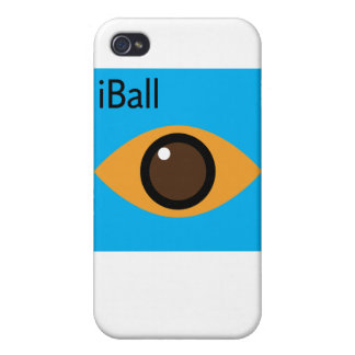 iBall (blue) Cover For iPhone 4