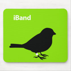 Mousepad with iBand Green design