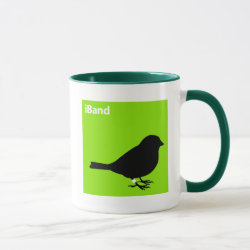 Combo Mug with iBand Green design