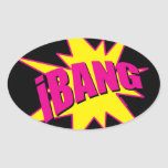 iBang Oval Sticker