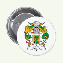 Ibarra Family Crest Button