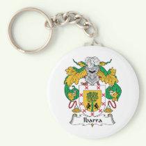 Ibarra Family Crest Keychain
