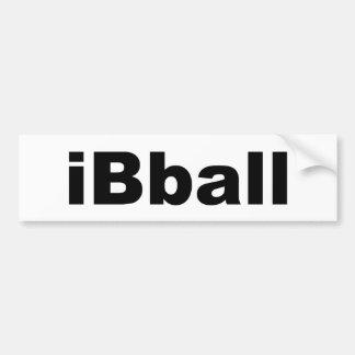 iBball Bumper Sticker
