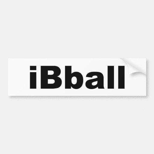 iBball Bumper Stickers