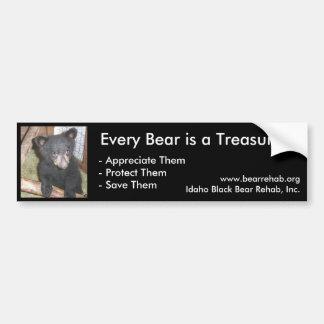 IBBR Bumper Sticker - Bear Cub Car Bumper Sticker