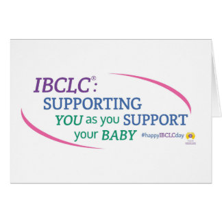 IBCLC® Day Greeting Card (English)