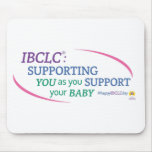 IBCLC® Day Mouse Pad (English)
