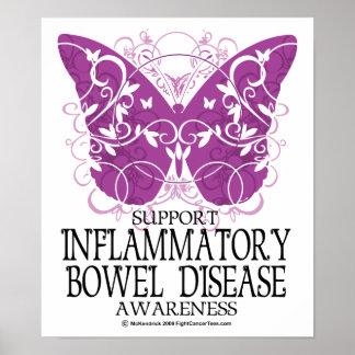IBD Butterfly Poster