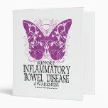 IBD Butterfly Vinyl Binder
