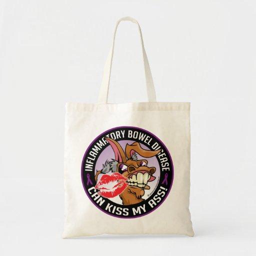 IBD Can Kiss My Ass Budget Tote Bag