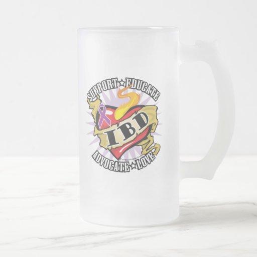 IBD Classic Heart Coffee Mugs