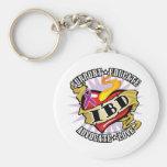 IBD Classic Heart Key Chain