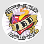 IBD Classic Heart Stickers
