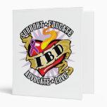 IBD Classic Heart Vinyl Binder