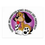 IBD Dog Postcard