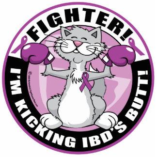 IBD Fighter Cat Cutout