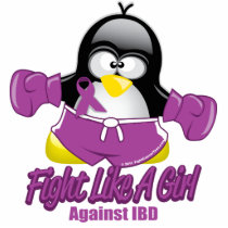 IBD Fighting Penguin Statuette