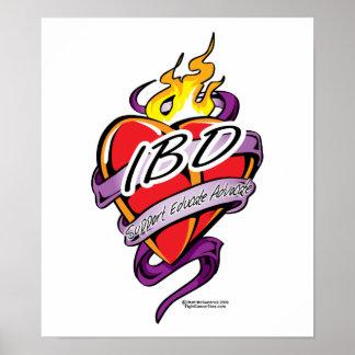 IBD Heart Posters