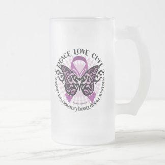 IBD Tribal 2 Frosted Glass Beer Mug
