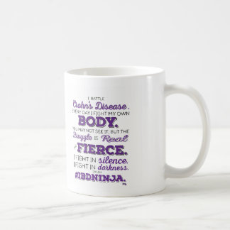 #IBDninja (Crohn's Disease) Mug Basic White Mug