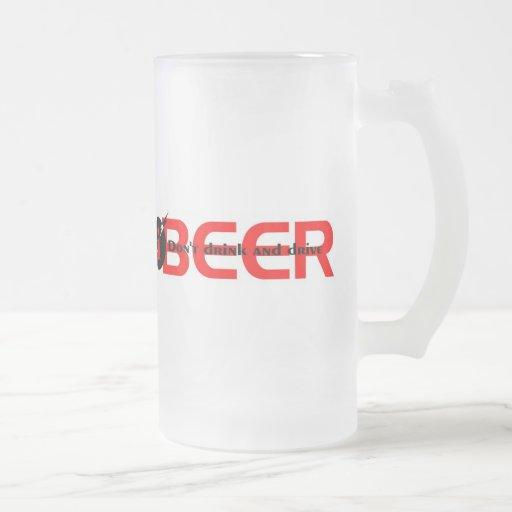 iBEER DON'T DRINK AND DRIVE Coffee Mugs