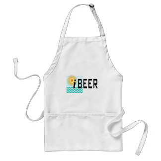 iBEER Funny T-shirt Adult Apron