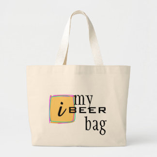 iBEER Funny T-shirt Canvas Bags