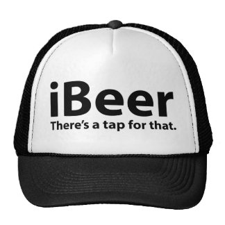 iBeer There's A Tap For That Trucker Hat
