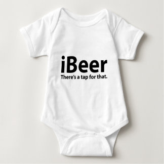 iBeer There's A Tap For That Baby Bodysuit